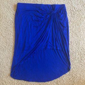 I.N.C. International Concepts Goddess Blue skirt